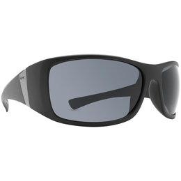 Black Satin/grey Dot Dash Locker Room Collection Convex Sunglasses Black Satin Grey