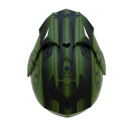 AFX FX39 Hero Full Face Dual Sport Helmet Green