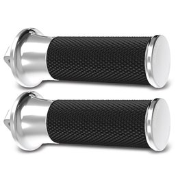 Chrome Arlen Ness Footpegs Smooth Fusion For Harley Davidson All