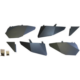Dragonfire Racing Door Panel And Slammer Kit For Polaris 07-1101 Unpainted