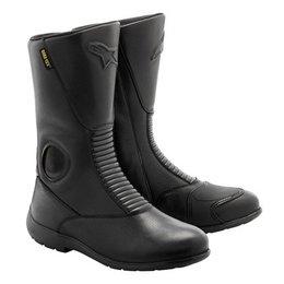 Black Alpinestars Gran Torino Gore-tex Boots Us 3.5 Eu 36