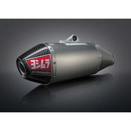Stainless Steel Midpipe, Aluminum Muffler, Carbon Fiber End Cap Yoshimura Rs-4 Slip-on Muffler Stainless Alum Carbon For Yamaha Yz250f 2007-2013