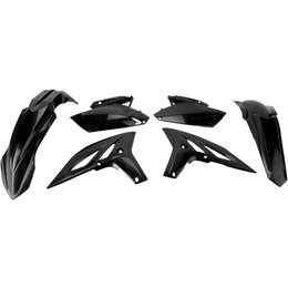 Acerbis Plastic Kit For Yamaha YZ250F YZ 250F 2010-2011 Black 2171890001 Black