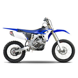 Stainless Steel Header, Stainless Steel Midpipe, Aluminum Muffler, Carbon Fiber End Cap Yoshimura Rs-4 Full Exhaust System Stainless Alum Carbon For Yamaha Yz250f 07-13
