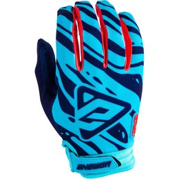 Answer Racing Mens AR-3 AR3 Gloves Blue