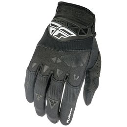 Fly Racing Youth Boys F-16 Textile Gloves Black