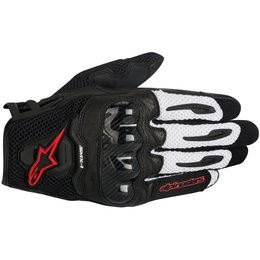 Alpinestars Mens SMX-1 SMX1 Air Touchscreen Textile Gloves Black