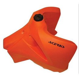 Orange Acerbis 6.6 Gallon Fuel Tank For Ktm Exc Sx-f 02-07