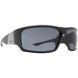 Black Satin/grey Dot Dash Locker Room Collection Destro Sunglasses Black Satin Grey