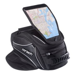 Cortech Super 2.0 12 Liter Magnetic Mount Tank Bag Universal Black Black