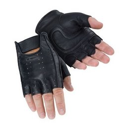 Black Tour Master Select Fingerless Gloves