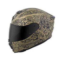 Scorpion EXO-R420 EXOR 420 Shake Full Face Helmet Gold