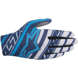 Alpinestars Mens Dune Textile Gloves Blue