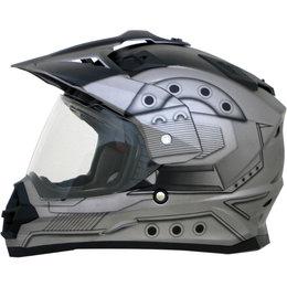 AFX FX39 Hero Full Face Dual Sport Helmet Silver