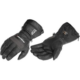 Black Firstgear Tpg Cold Weather Riding Gloves 2013