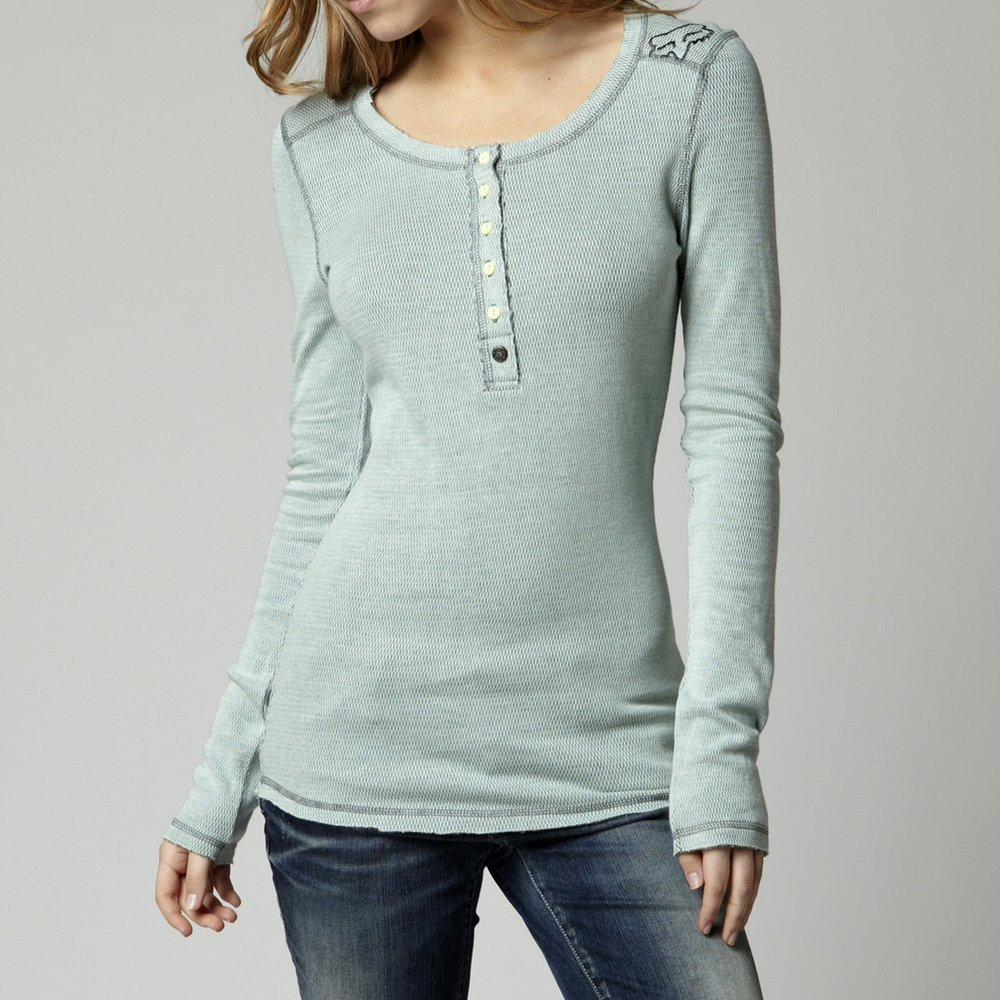 Fox racing womens exhilarate long sleeve thermal for Thermal shirt for women