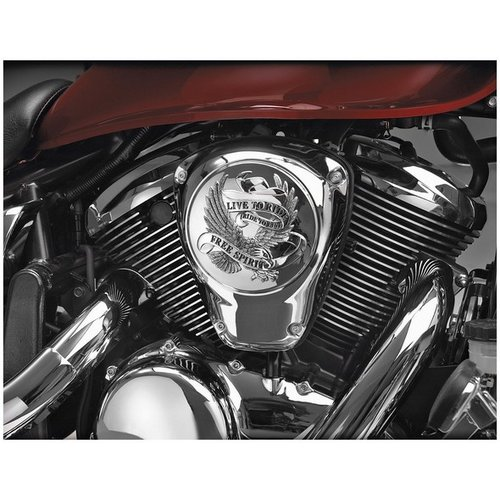 Show Chrome Motorcycle Air Cleaner Covers For Suzuki M50 Boulevard 05-08