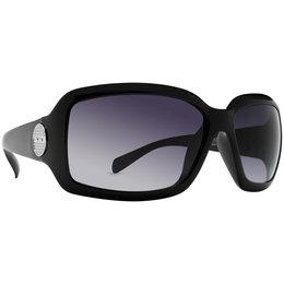 Black/grey Dot Dash Womens Design House Collection Flurge Sunglasses Black Grey