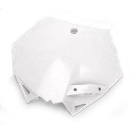 Cycra Stadium Number Plate White KTM SX SXF EXC XC XC-W XCF-W 125-530 2007-2012