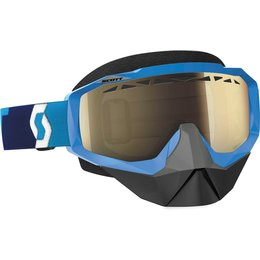 Scott USA Hustle SX Snowcross Anti-Fog Goggles Blue