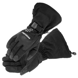 Firstgear Mens Explorer Leather Textile Gloves 2014 Black