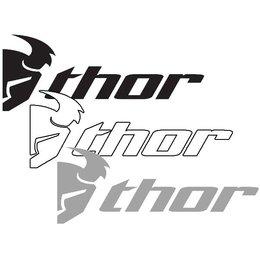 Thor Logo Slant Die-Cut Decals 9 Inch - 6 Pack