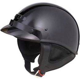 Black Gmax Gm35 Full Dressed Half Helmet