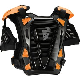 Thor Mens Guardian Chest/Back Roost Guard Protector Black