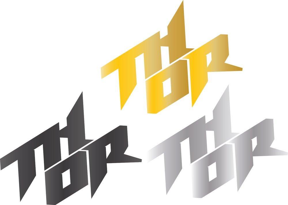 motocross racing logo thor