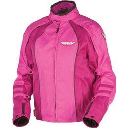 Pink Fly Racing Womens Georgia Ii Textile Jacket