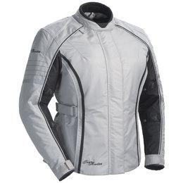 Silver Tour Master Womens Trinity Series 3 Textile Jacket