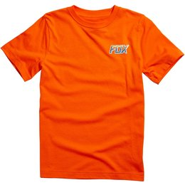 Fox Racing Youth Boys Mackville Short Sleeve T-Shirt Orange