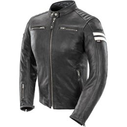 Joe Rocket Womens Classic 92 Leather Jacket Black
