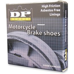 N/a Dp Brakes Brake Shoes 9161 Front For Kawasaki Bayou Kdx Kx Tecate