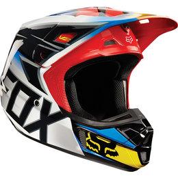 Fox Racing V2 Race MX Helmet Black