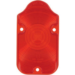 Drag Specialties Tombstone Taillight Lens For 2010-0561 Universal Red 2010-0564