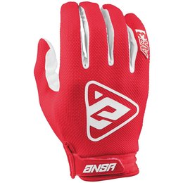 Answer Racing Mens AR-3 AR3 MX Gloves Red