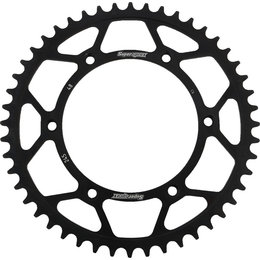 Supersprox Steel Rear Sprocket 48T Yamaha TTR230 WR YZ Black RFE-245-48-BLK Black