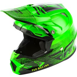 Fly Racing Toxin MIPS Embargo Cold Weather Helmet Green