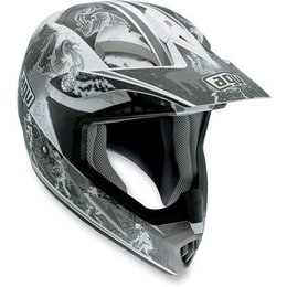 Silver Agv Mt-x Evolution Helmet