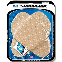 Stompgrip Tank Traction Pad Kit Side Clear Universal 50-10-0001
