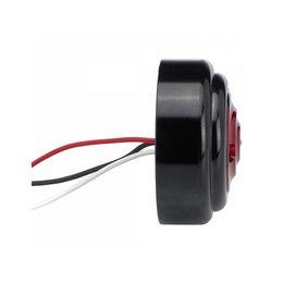 Biltwell Taillight Model B 1 5/8 Inch Outside Lens Diameter Black Universal Black
