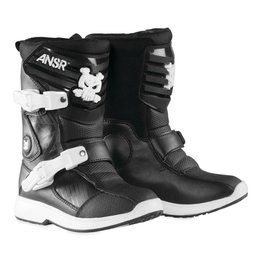 Answer Pee Wee Boys Motocross MX Riding Boots Black