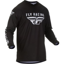 Fly Racing Mens Universal Jersey Black