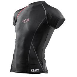 Black, Red Evs Mens Tug Short Sleeve Compression Shirt 2013 Black Red