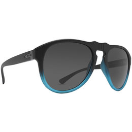 Black Satin, Blue Satin/retro Grey Dot Dash Vintage Collection Gentry Sunglasses Black Blue Satin Retro Grey