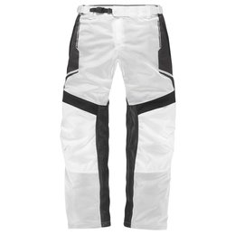 Icon Mens Anthem 2 Armored Fighter Mesh Motorcycle Overpants 2015 White
