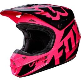 Fox Racing Womens V1 Race DOT Approved Motocross MX Helmet Pink