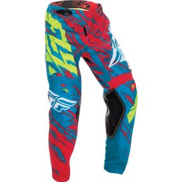 Fly Racing Mens Kinetic Relapse Pants Blue