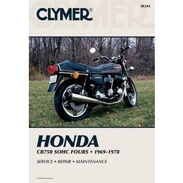Clymer Repair Manual For Honda CB750 CB-750 SOHC FOUR 69-78